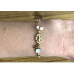 Bracelet Médaille vierge...